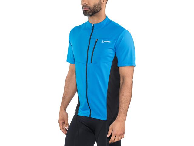 Löffler Rocky Half-Zip Fahrrad Shirt Herren brillant